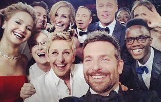 Ellen Crashes Twitter