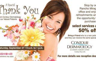 A Special Patient Thank You at Contour Dermatology