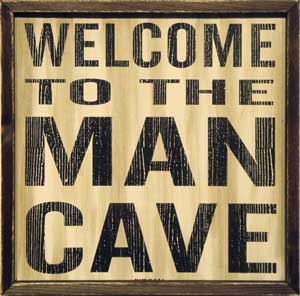 Contour's Man Cave where men can fell comfortable about their look