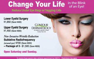April 2015 Specials at Contour Dermatology