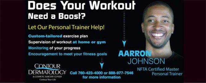 Aarron Johnson, NFTA Certified Personal Trainer
