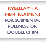 Kybella – Double Chin Fat Reduction