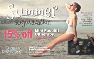 July 2016 Specials, Mini-Facelift, Ultherapy