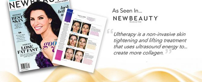 Ultherapy in New Beauty Magazine 2016