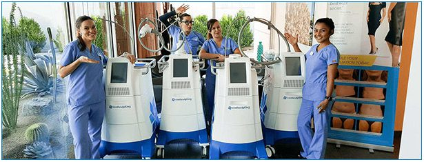 Contour's 5 Fat Freezing Machines